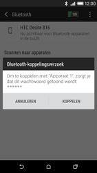 HTC Desire 816 - Bluetooth - koppelen met ander apparaat - Stap 9