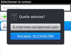 BlackBerry 9720 - Contact, Appels, SMS/MMS - Envoyer un SMS - Étape 8