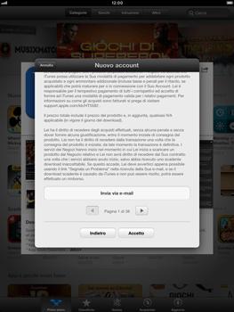 Apple iPad mini - Applicazioni - Configurazione del negozio applicazioni - Fase 10