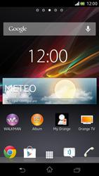Sony Xperia V - Operazioni iniziali - Installazione di widget e applicazioni nella schermata iniziale - Fase 6