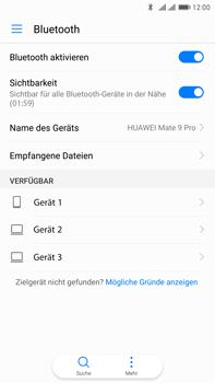 Huawei Mate 9 Pro - Bluetooth - Geräte koppeln - 0 / 0