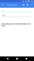 Sony Xperia XZ Premium - Android Oreo - E-mail - envoyer un e-mail - Étape 5