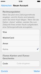 Apple iPhone 5c - Apps - Einrichten des App Stores - Schritt 19