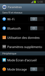 Samsung Galaxy Express - Réseau - Sélection manuelle du réseau - Étape 4