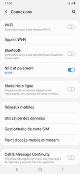 Samsung Galaxy A50 - Internet et roaming de données - Comment vérifier que la connexion des données est activée - Étape 5