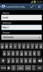 Samsung Galaxy S II - Internet und Datenroaming - Verwenden des Internets - Schritt 8