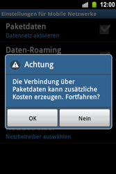 Samsung Galaxy Ace - Internet - Apn-Einstellungen - 8 / 24