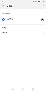 Huawei Mate 10 Pro - Android Pie - MMS - Configurazione manuale - Fase 14