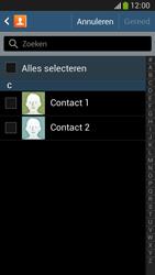 Samsung C105 Galaxy S IV Zoom LTE - Contactgegevens overzetten - delen via Bluetooth - Stap 7