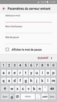 Samsung Galaxy A8 - E-mail - configuration manuelle - Étape 8
