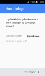 Samsung Galaxy J1 (2016) (J120) - Applicaties - Account aanmaken - Stap 10