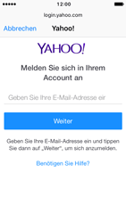 Apple iPhone 5 iOS 10 - E-Mail - 032b. Email wizard - Yahoo - Schritt 6