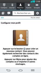 LG G2 - Contact, Appels, SMS/MMS - Ajouter un contact - Étape 4