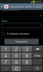 Samsung Galaxy Trend Lite - E-mail - configurazione manuale - Fase 14