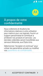 Motorola Moto E (1st Gen) (Lollipop) - Premiers pas - Créer un compte - Étape 5