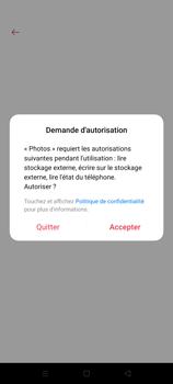 Oppo A72 - Photos, vidéos, musique - Créer une vidéo - Étape 14