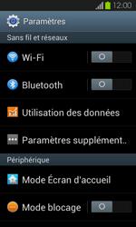 Samsung Galaxy S2 - Internet et connexion - Partager votre connexion en Wi-Fi - Étape 4