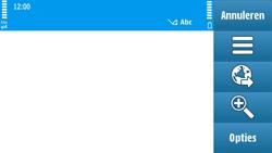 Nokia N97 - internet - hoe te internetten - stap 3