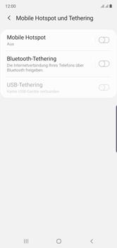 Samsung Galaxy Note 10 - WiFi - So aktivieren Sie einen WLAN-Hotspot - Schritt 6