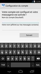 Acer Liquid Z500 - E-mail - Configurer l