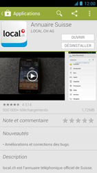 Alcatel One Touch Idol - Applications - installation d