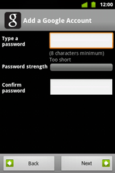 Alcatel OT-983 - Applications - Setting up the application store - Step 8
