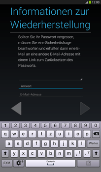 Samsung T211 Galaxy Tab 3 7-0 - Apps - Konto anlegen und einrichten - Schritt 14