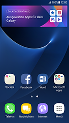 Samsung Galaxy S7 - Android N - Startanleitung - Installieren von Widgets und Apps auf der Startseite - Schritt 3