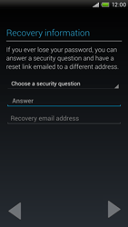 HTC One X Plus - Applications - Setting up the application store - Step 9