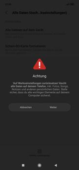 Xiaomi RedMi Note 7 - Gerät - Zurücksetzen auf die Werkseinstellungen - Schritt 7
