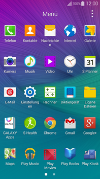 Samsung Galaxy Note 4 - WLAN - Manuelle Konfiguration - 3 / 9