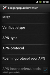 Sony ST21i Xperia Tipo - MMS - handmatig instellen - Stap 13