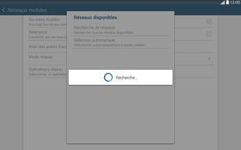 Samsung T535 Galaxy Tab 4 10.1 - Réseau - Sélection manuelle du réseau - Étape 8