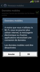 Samsung I9505 Galaxy S IV LTE - Internet - Désactiver les données mobiles - Étape 7