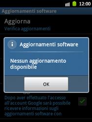 Samsung Galaxy Pocket - Software - Installazione degli aggiornamenti software - Fase 9