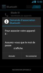 ZTE Blade III - Bluetooth - Jumelage d