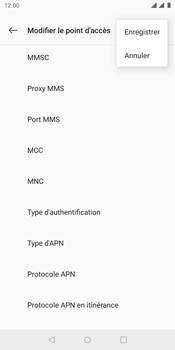 OnePlus 5T - Internet - Configuration manuelle - Étape 17