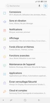 Samsung Galaxy S9 Plus - Internet et connexion - Accéder au réseau Wi-Fi - Étape 4