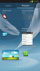 Samsung Galaxy Note II - Prise en main - Installation de widgets et d