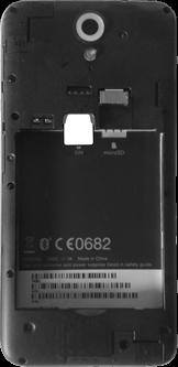 HTC Desire 620 - SIM-Karte - Einlegen - Schritt 3
