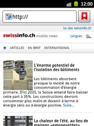 Samsung Galaxy Pocket - Internet et roaming de données - Navigation sur Internet - Étape 12