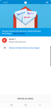 Samsung Galaxy Note 10 Plus 5G - E-Mail - Manuelle Konfiguration - Schritt 22