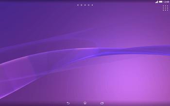 Sony Xperia Tablet Z2 LTE - Startanleitung - Installieren von Widgets und Apps auf der Startseite - Schritt 3