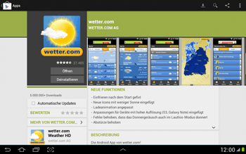 Samsung Galaxy Note 10-1 - Apps - Herunterladen - 15 / 22