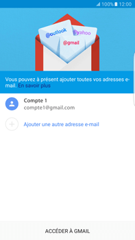 Samsung Samsung Galaxy S6 Edge+ - Android M - E-mail - Configurer l