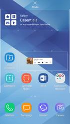 Samsung Galaxy A5 (2017) - Android Nougat - Operazioni iniziali - Installazione di widget e applicazioni nella schermata iniziale - Fase 7