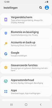 Samsung galaxy-s8-sm-g950f-android-pie - Instellingen aanpassen - Back-up maken in je account - Stap 4