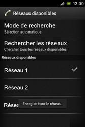Sony ST23i Xperia Miro - Réseau - utilisation à l'étranger - Étape 13