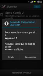 Sony Xperia J - Bluetooth - Jumelage d