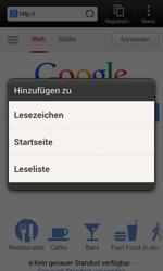 HTC Desire X - Internet und Datenroaming - Verwenden des Internets - Schritt 7
